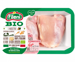 Organic chicken outer thigh