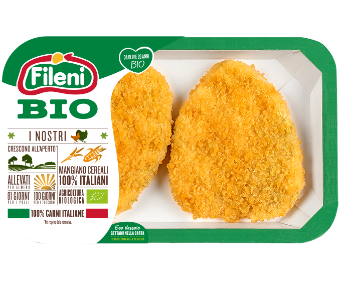 Organic chicken breast cutlet with spinach