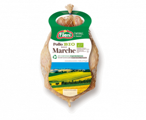 Organic whole chicken from Le Marche