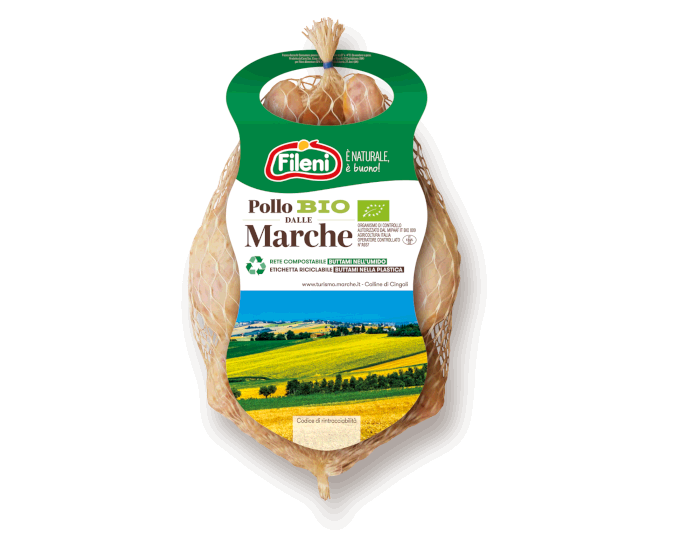 Organic chicken from Le Marche