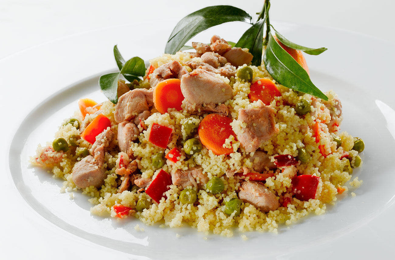 Cous cous with chicken